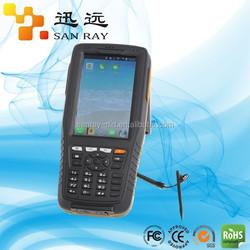 Android zigbee rfid handheld reader with GPS/GPRS/Bluetooth(Sanray:P6001)