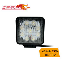 high quality 27w auto led work light for motorcycle off road