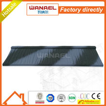 Wanael noise obsorption stone coated metal sheet/sheet metal roof prices/terracotta sheet roof