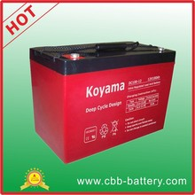 2015 New ! 100ah 12V Deep Cycle AGM storage battery for wheel chair