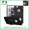 Hybrid heavy duty TPU+PC protective phone case 2 in 1 dual layer with kickstand for Apple iphone 6S / 6 / PLUS