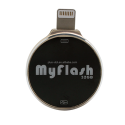 metal and jewelry Material and Encryption OTG usb Flash Drive for iphone