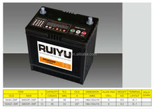 12V 36h sealed maintenance free automotive lead acid battery