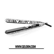 Best Zebra Titanium 1'' Inch Thin plates Dual Voltage 110-220V Hair Tools professional flat irons Hair Straightening Irons