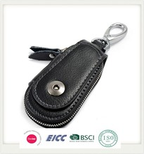 The new car key cases genuine leather wallets of leather key cases