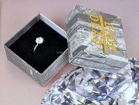 souvenir fashion empty rings jewelry gift boxes, men's ring