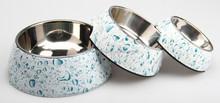Melamine Pet Bowl, Dog Bowl, Animal Feeding Bowl 3pk Set