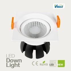 15w led downlight big aluminum heat sink IC driver AC220V-240V