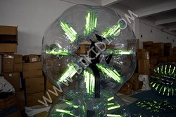 2016 Body zorbing glowing bubble football/soccer bubble for sale giant soccer bubble ball D1005