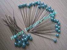 32mm Turquoise Pearlized Pin