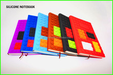 colorful silicone promotional notebook gift sets