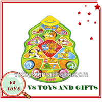 2014 new design colorful wholesale musical kids plastic play mat