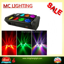 2015 new product 8x10W 4-in-1 RGBW 8 head led spider moving head light price