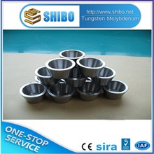 high temperature Polished tungsten crucible 99.95%