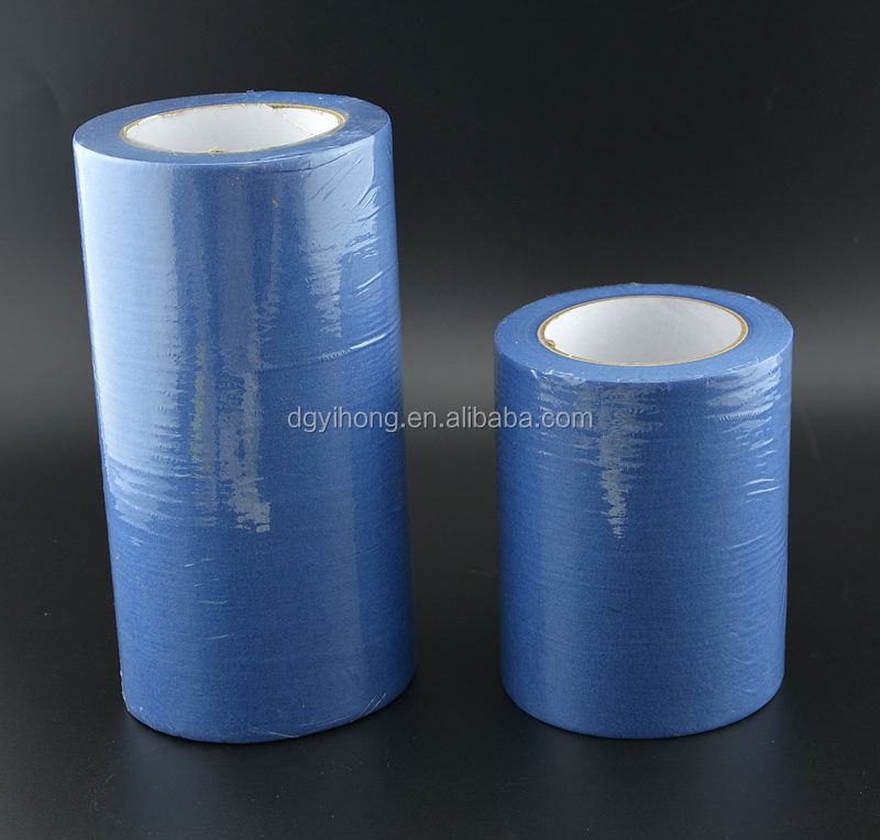 2014 popular colorful Rubber adhesive Water proof masking tape for normal Paint use