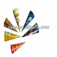2015 colorful aluminum/metallized foil laminated paper for ice cream wrapping