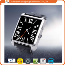 2015 wrist watch mp3 player with leather band Hot In USA New Brand Style welcome small order
