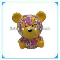 Pottery Bear Money Box,Coin Purse,Coin Bank