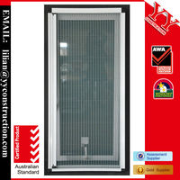Aluminum awning window, with folding shutter inside, Australian standards AS2047 passed,German Hardware, grade:N6