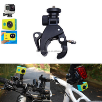 Quick Easy Release Bike Bicycle Motorcycle Handlebar Seatpost Mount Clamp Tripod Mount Adapter for Gopro Hero 4 3 3 2 Camera