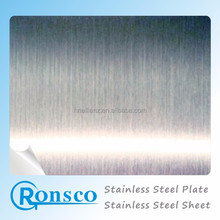 Aisi 430 Stainless Steel Sheet And Plate Hairline BA 8K Surface