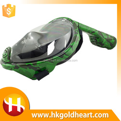 Hot Sale Scuba Diving Equipment Safari Snorkel,Tempered Glass Diving Easybreath Mask,Paintball Mask Scarf Bandana