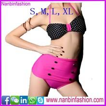 wholesale high waist hot sex imeges bikini S,M,L,XL