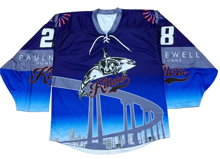 beer league hockey jerseys