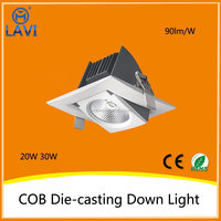 China products best selling Aluminum 20W round die cast cob led downlight shell
