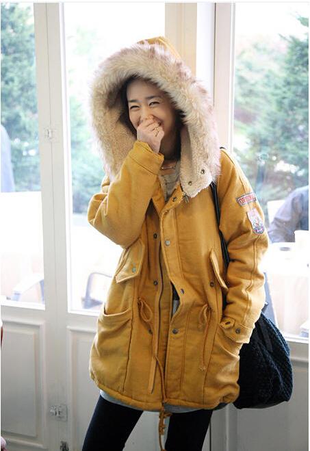 Рыжая Зимняя Куртка Купить