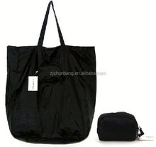 2015 cheap polyester bag/ polyester cheap tote folding leaves of strawberry bags/ shopping trolley bag on wheels