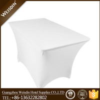 100% Polyester hot sale Dobby polyester elastic table cover