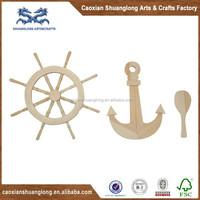 Wood quant rudder ship model kit