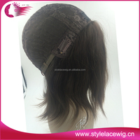 New arrival good quality natural brown european hair kosher jewish wig