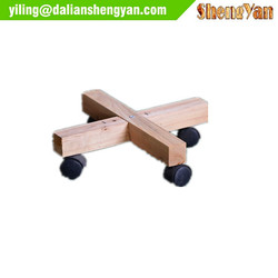 Garden Wooden Planter Roller, Wood Mover