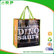 New design cheap practical English alphabet pp woven stocklot pp shopping bag