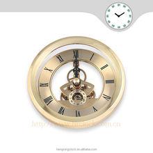 quartz metal skeleton clock Antique Style Clocks Senior high quality insert clock