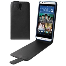 PayPal Accepted Vertical Flip Leather Case for HTC Desire 620
