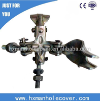 Preferred Construction Material Tube Clamps Flexible Swivel Coupler