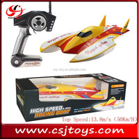 Toys 2015 2.4G High Speed RC racing boat brushless wl toys speed boat