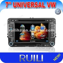 2012 NEW 2 din Car GPS for VW VOLKSWAGEN with steering wheel control