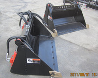 mini loader 4 in 1 bucket