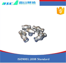 High-precision and High-grade stainless steel pipe die cast auto parts for industrial use , OEM available