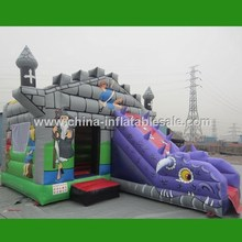 Inflatable Bouncer Kids Games inflatable bouncy castle with water slide H1-2612