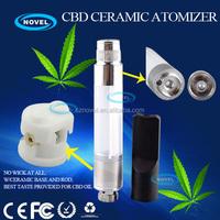 2014 new electronic cigarette CBD ceramic vaporizer pen clone mini erlkonigin atomizer