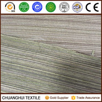 STOCK ! LOWER PRICE chenille stripe fabric for cushion cover ,sofa faric chenille fabric