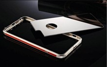China Wholesale hot sale Custom Mobile phone accessory Aluminum Metal bumper case for xiaomi mi4 case