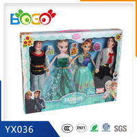 2015 New Product Plastic Cheap Lovely Barbie Doll for Children/Girls