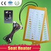 Alloy Wire 12v Car Seat Heater For Special Cars