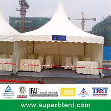 pagoda event tent for India market with sidewall